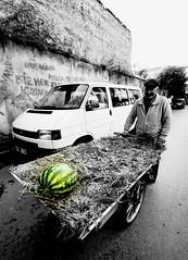 """""""Only the poet can look beyond the detail and see the whole picture."""" (nilgun erzik) Tags: türkiye istanbul sb karpuz fenerbalat sokaklar karpuzcu fotografkıraathanesi fotografca sokaksatıcısı biyerlerde eylul2009"""