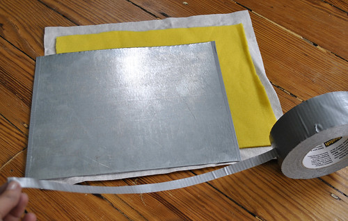 Step 5 - Tape Metal Edges