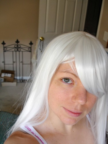 Eruka Frog Cosplay - Wig Before Cutting (& me)