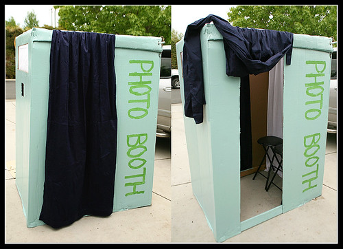 DIY Big Box Photo Booth | DIY Photo Booth Ideas For Your Next Shindig