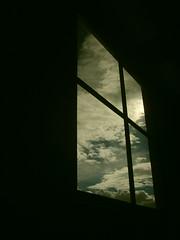 (Angela. ) Tags: ventana colombia bogot cielo contraste bibliotecavirgiliobarco