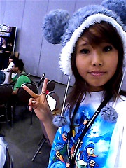 P29-05-11_15.52 (Ally Gong) Tags: anime girl fashion magazine asian cosplay makeup clothes potato posters fanime seventeen kattun brownhair animeconvention kanjani8 ryonishikido kamenashikazuya kingdomofhearts bleacherhair ally1on allygong