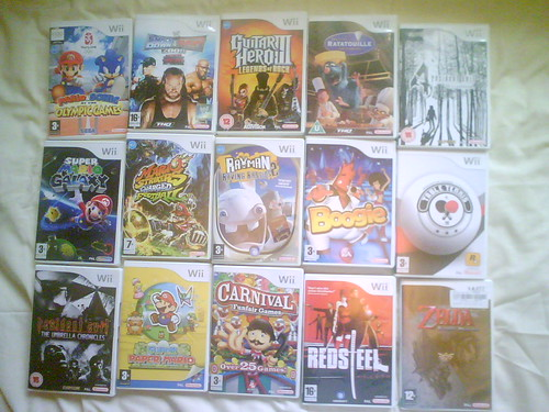 My Wii Games Collection