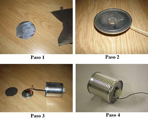 Como hacer parlantes caseros para tu MP3