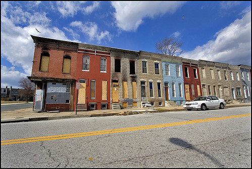 Row Houses in Baltimore, MD