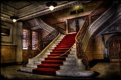 The stairway (Nilton Ramos Quoirin) Tags: brazil brasil stairs carpet sopaulo steps stairway santos escada tapete soe hdr highdynamicrange corrimo escadaria degraus outstandingshots shieldofexcellence superbmasterpiece megashot diaadiabrasileiro