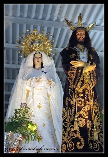 Jesus el Cautivo y Mª del Rocio