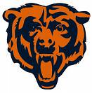 Chicago Bears bear logo dealie