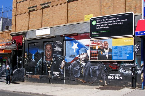 Mad Mark & Big Pun Tats Cru Graffiti Mural, South Bronx NYC