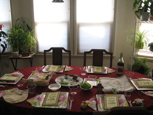 Table for Seder #1