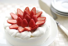 Happy Mother's Day (LynnInSingapore) Tags: cake dessert strawberry mothersday chantilly shortcake