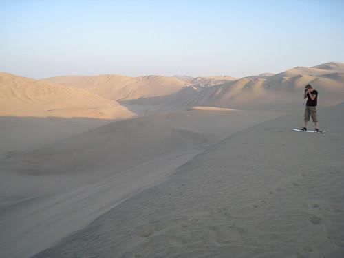 Sand Boarding, Huacachina