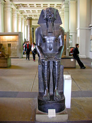 BJ865 Egypt at British Museum (listentoreason) Tags: uk england sculpture london art history archaeology statue stone museum canon europe unitedkingdom britain egypt eu places granite material britishmuseum europeanunion ancientegypt ancientworld greatbritian ef28135mmf3556isusm score25