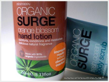 Organic Surge Skincare Range