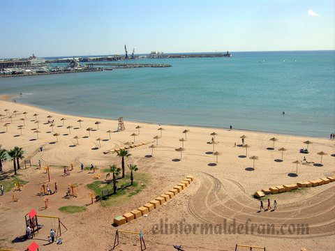 Playa Los Carabos