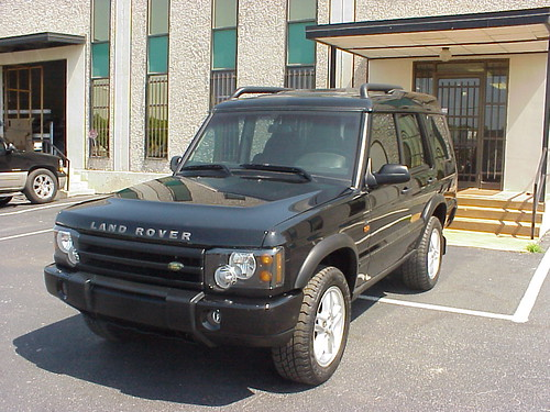 Armored Bulletproof Land Rover Discovery Suv