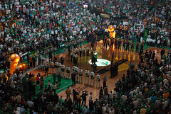 Boston Pops Anthem (Eric Kilby) Tags: 2 game boston court garden los angeles wide finals pops 2008 nba lakers celtics anthem pregame td banknorth