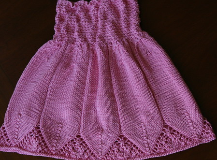 Preview This Free Knitting Pattern: Flora Dress