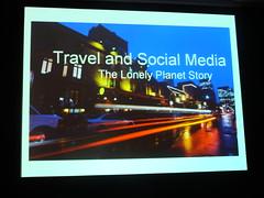 Conférence e-tourisme Lonely Planet