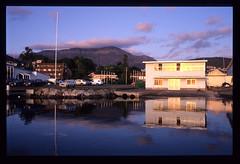 Mt Wellington from Sandy Bay (andrewcaswell) Tags: reflection water river bay mt derwent sandy drew australia andrew mount wellington tasmania hobart caswell