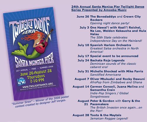 twilight dance series santa monica