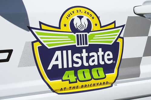 2008 Brickyard 400 Door Logo