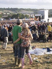 Pyramid Stage - Watching Goldfrapp