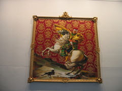 Kehinde Wiley painting @ the Brooklyn Museum