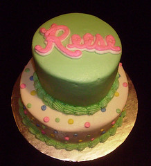 Baby Reese Shower Cake