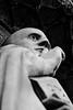 St Benedict (Leo Reynolds) Tags: bw sculpture photoshop canon eos iso100 publicart f56 30d 0ev 0004sec canonef70300mmf456isusm hpexif 165mm leol30random publicartnorwich groupbw groupsepiabw xleol30x xxx2008xxx xratio2x3x