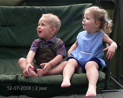 second birthday ( - s  ) Tags: birthday kids twins verjaardag kinderen karel madelief tweeling