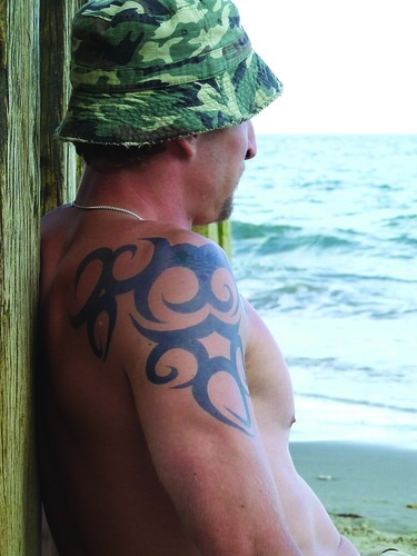 Army The Mens :Tribal in Body New Tattoos for 2009