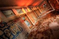 Heatwave (country_boy_shane) Tags: windows light red urban brown west brick green texture abandoned window rotting station architecture danger contrast photoshop wonder hope graffiti office support rust shane michigan quality awesome side homeless detroit central columns neglected basement arts large wave save ceiling adventure mortar restore heat sweat huge flashlight weathered vault marble temperature vaulted decrepit avenue filth exploration shame discovery gaze beams hdr mcs decayed puny treasures trespassing ue lightroom sine beaux gorski bagley canonefs1022mmf3545usm overwhelming monsterous canon30d