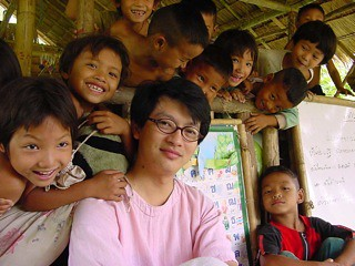 Fellow Sombat and Hill Tribe Kids - Thailand