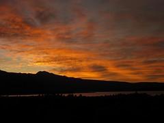 Sunset at the Tufas (Skye22) Tags: light sky sun sunlight clouds lifetravel