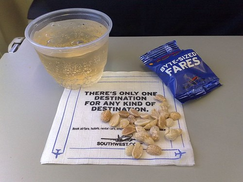 Peanuts and Ginger Ale on Southwest
