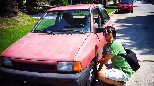 我們租的小車