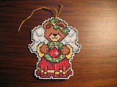 Bear Ornament Front