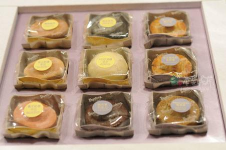 帕莎蒂娜月餅禮盒