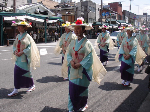 你拍攝的 2008祇園祭の花傘巡行。