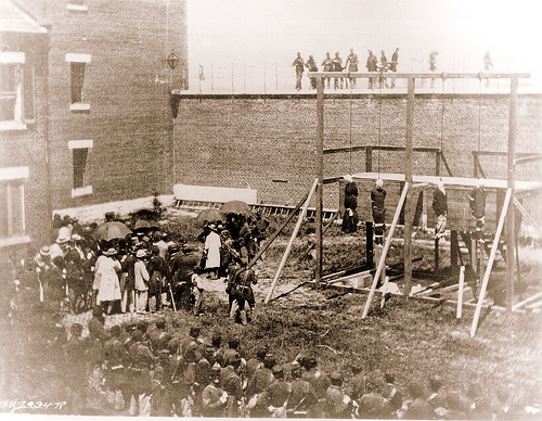 History - Lincoln's Assassination - First Woman Hang by the US