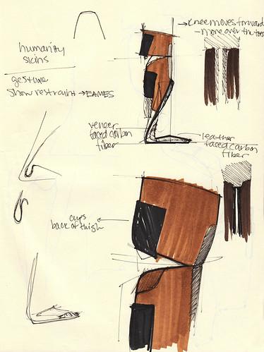 Eamespunk prosthetic leg