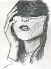 dream (nfnufah! ) Tags: art girl pencil hair sketch drawing dream