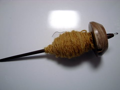 """My First """"Ply-on-the-Fly"""" yarn"""