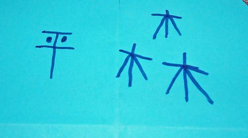 Pinwheel kanji