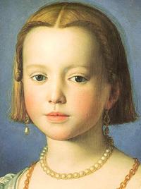 Bia de Medici by Agnolo Bronzino, 1542