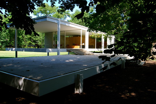 Farnsworth House,modern,house,design