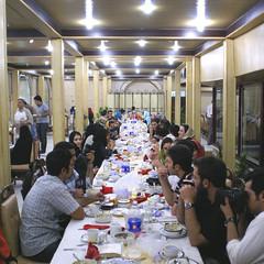 Iranian Flickr Members at an Iftar Gathering, Teheran, Persia