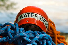 Water Rescue (zoom in tight) Tags: helmet waterrescue