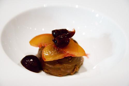 Chocolate hazelnut croustillant